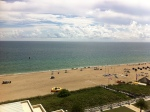 The view from our hotel room.